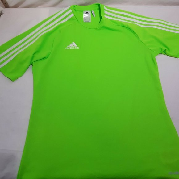 adidas Shirts   Adidas Climalite Lime Green Active Wear Shirt ...